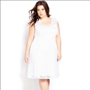 NEW Noir White Lace Dress...sooo beautiful!!